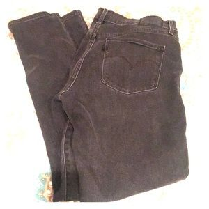 Levi's shaping skinny jeans 311 size 30